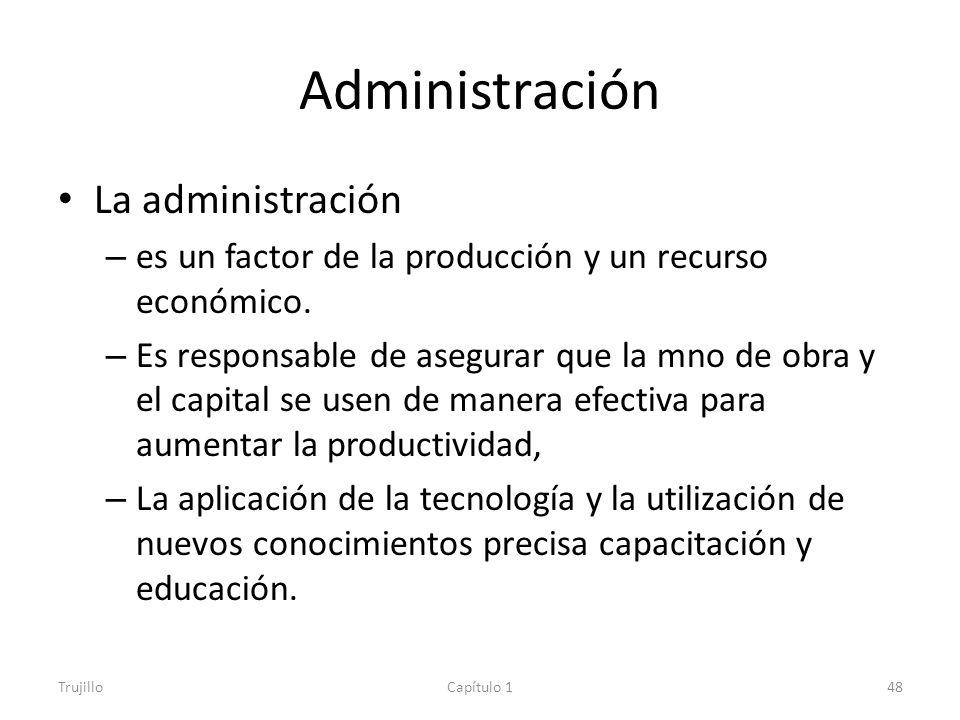 Administración La administración