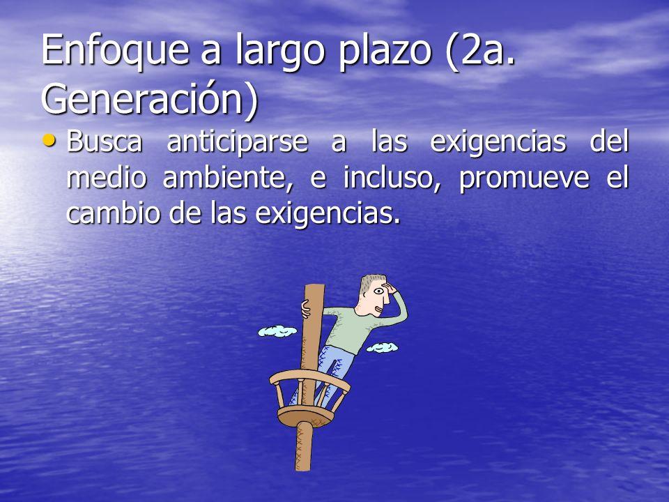 Enfoque a largo plazo (2a. Generación)