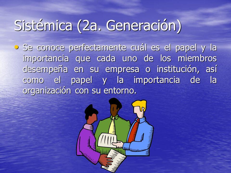 Sistémica (2a. Generación)