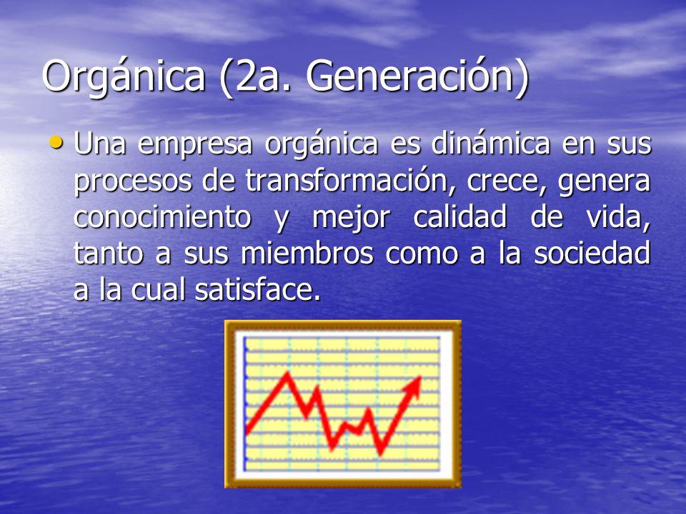 Orgánica (2a. Generación)