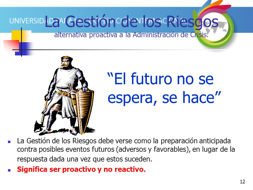 El futuro no se espera, se hace