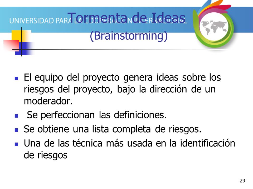 Tormenta de Ideas (Brainstorming)