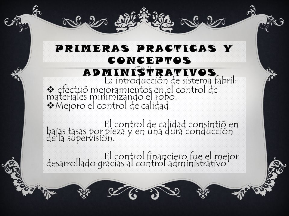PRIMERAS PRACTICAS Y CONCEPTOS ADMINISTRATIVOS