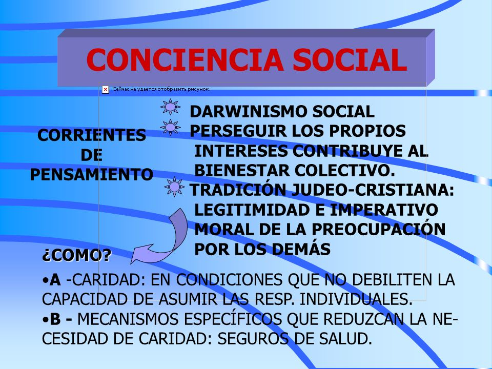 CONCIENCIA SOCIAL DARWINISMO SOCIAL PERSEGUIR LOS PROPIOS CORRIENTES