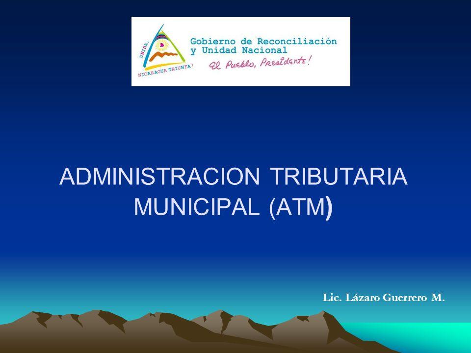 ADMINISTRACION TRIBUTARIA MUNICIPAL (ATM)