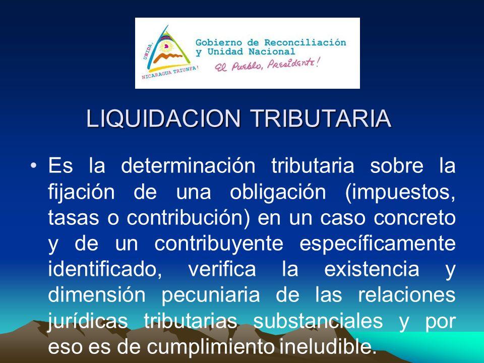 LIQUIDACION TRIBUTARIA