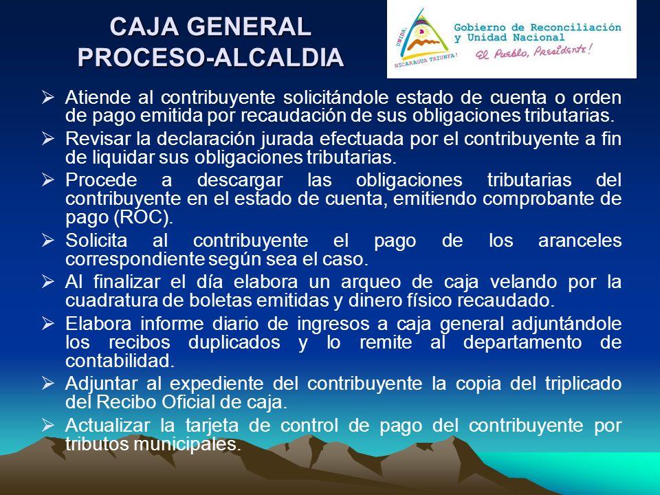 CAJA GENERAL PROCESO-ALCALDIA