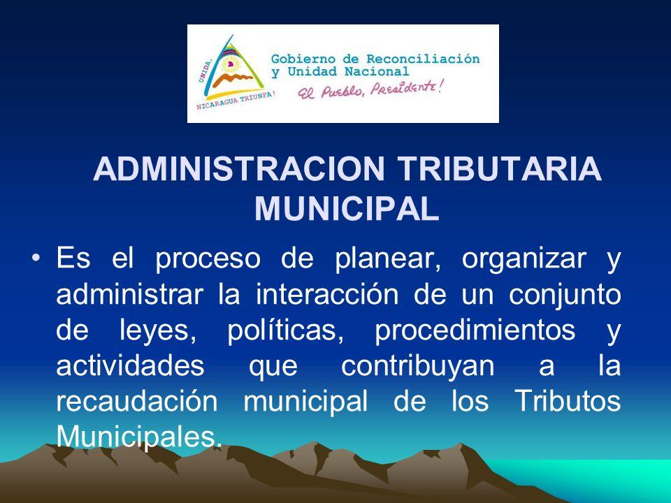 ADMINISTRACION TRIBUTARIA MUNICIPAL