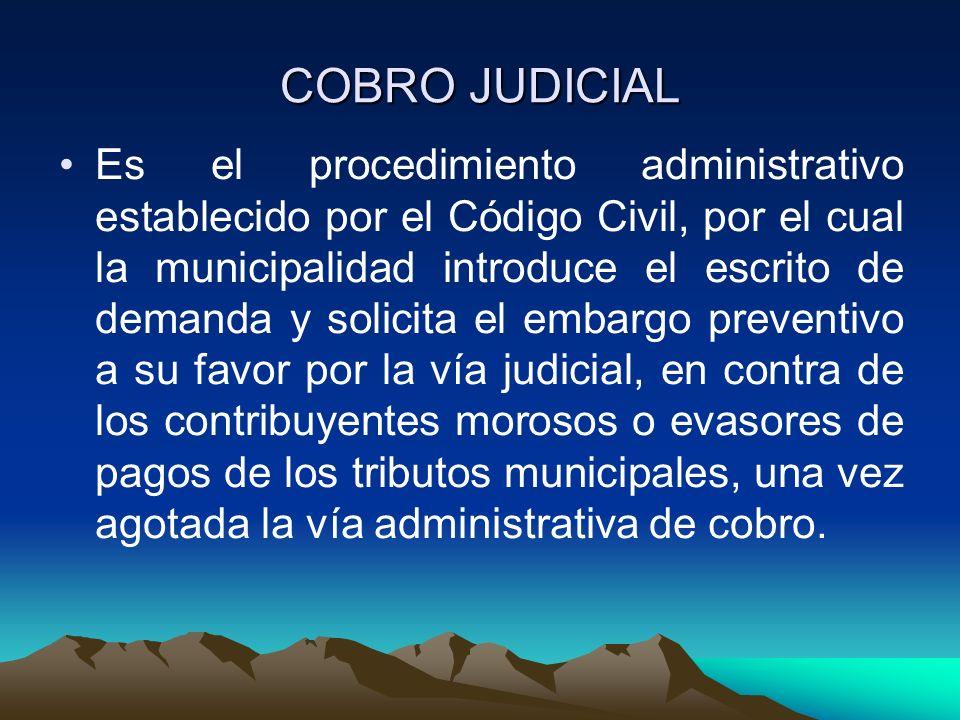 COBRO JUDICIAL