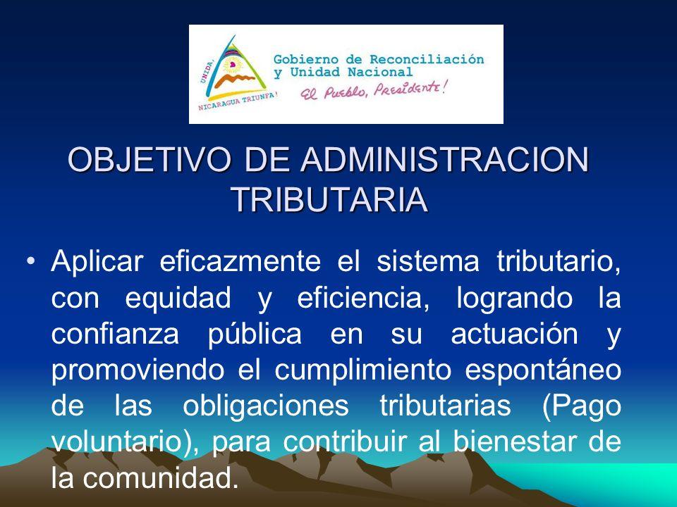 OBJETIVO DE ADMINISTRACION TRIBUTARIA