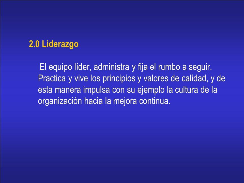 2.0 Liderazgo