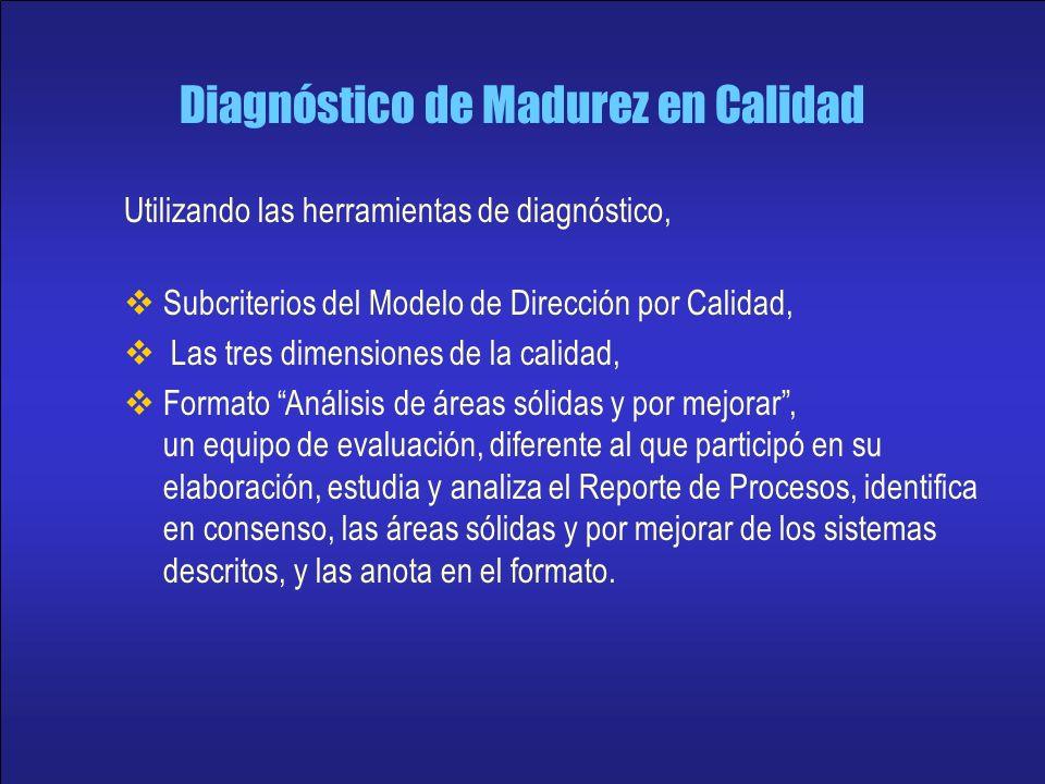 Diagnóstico de Madurez en Calidad