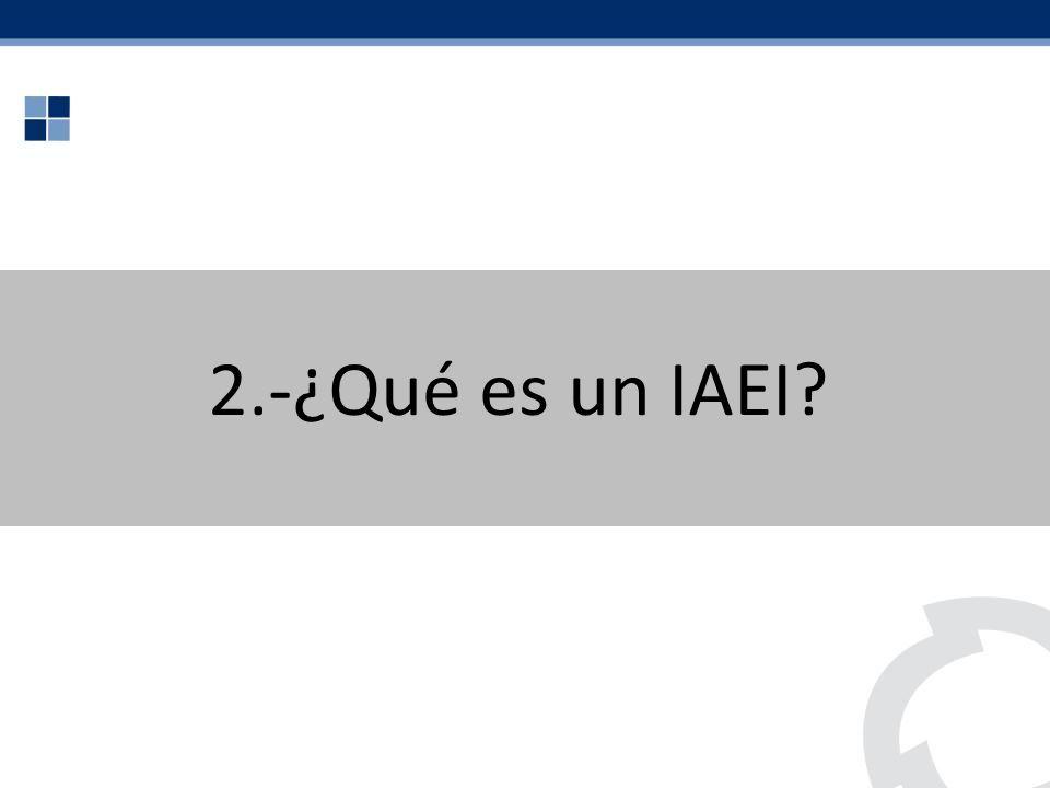 2.-¿Qué es un IAEI
