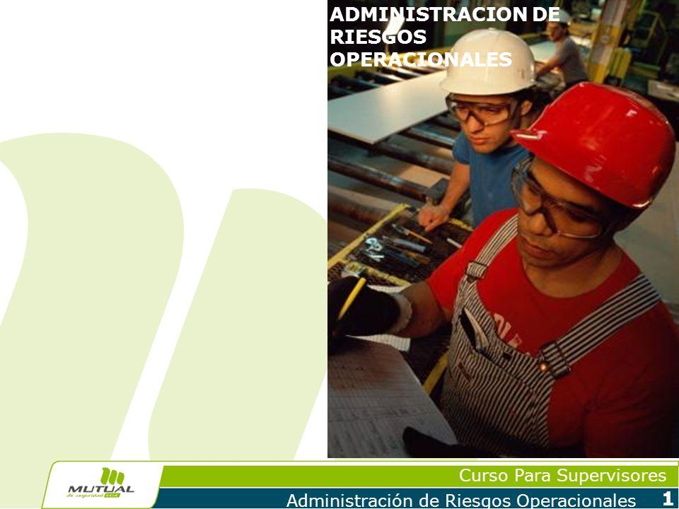 ADMINISTRACION DE RIESGOS OPERACIONALES