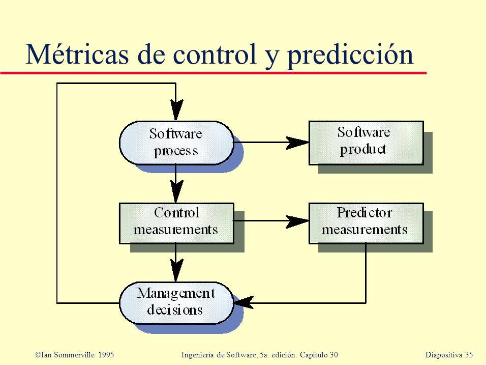 Métricas de control y predicción