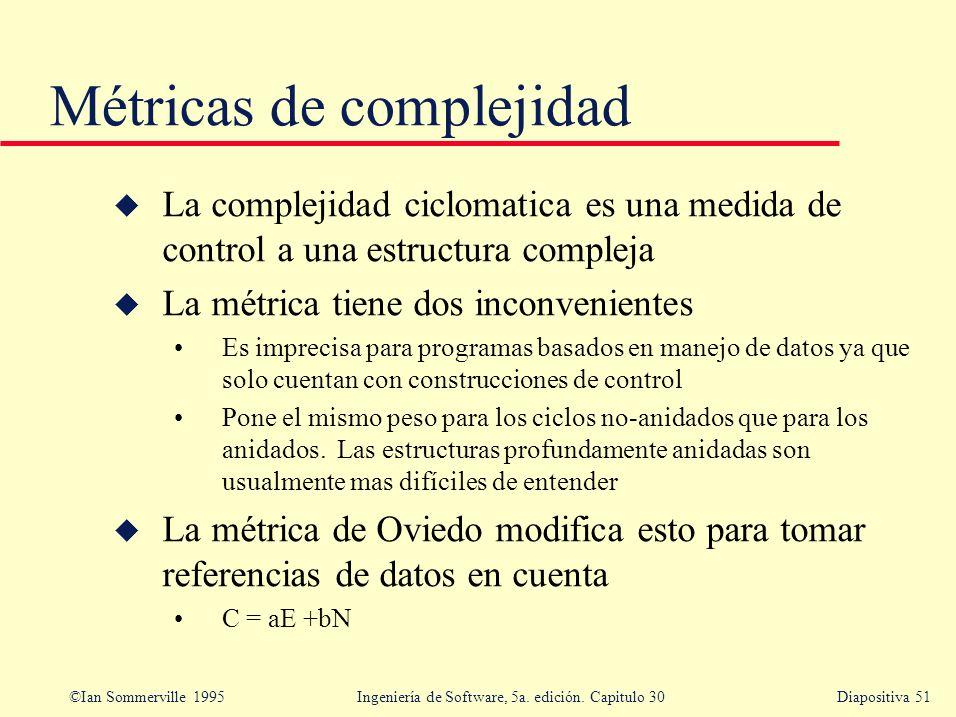 Métricas de complejidad