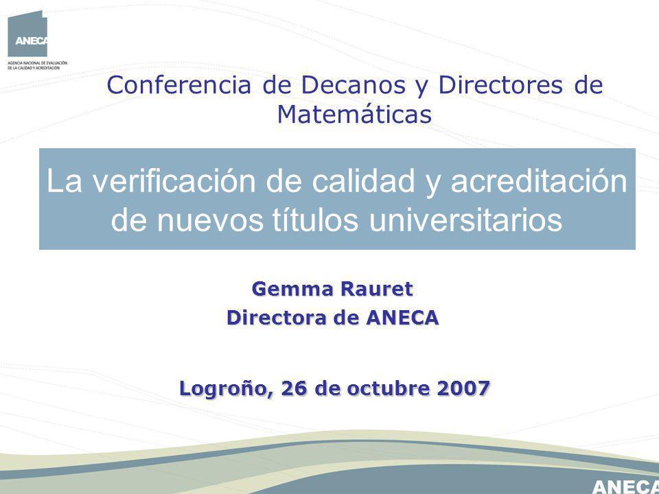 Conferencia de Decanos y Directores de Matemáticas