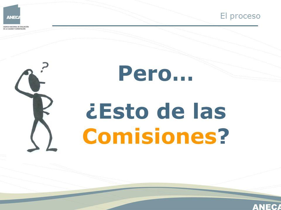 ¿Esto de las Comisiones