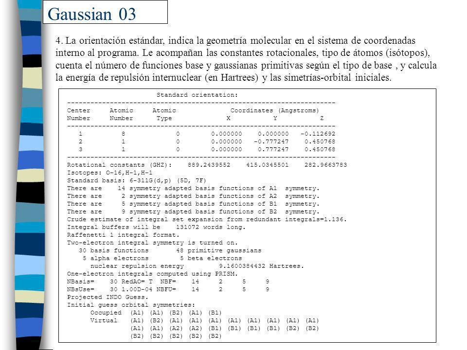 Gaussian 03