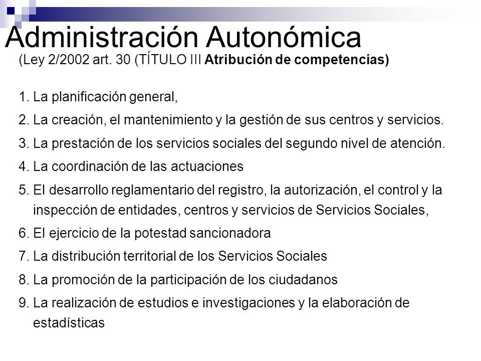 Administración Autonómica