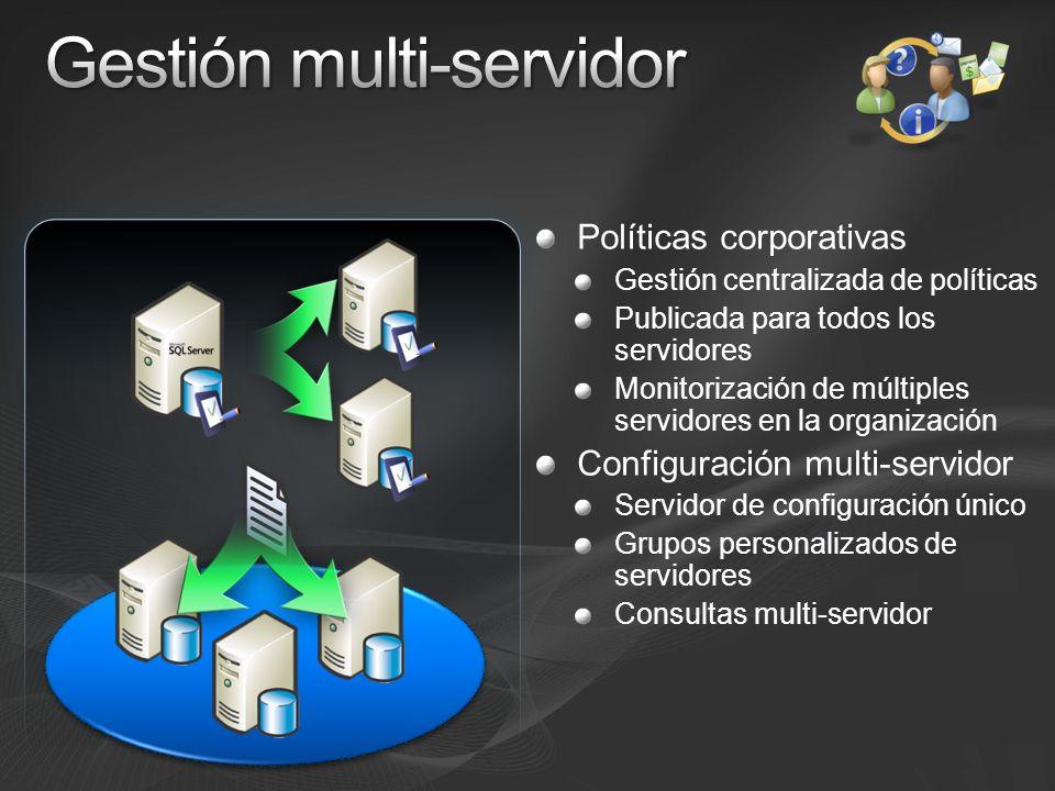 Gestión multi-servidor