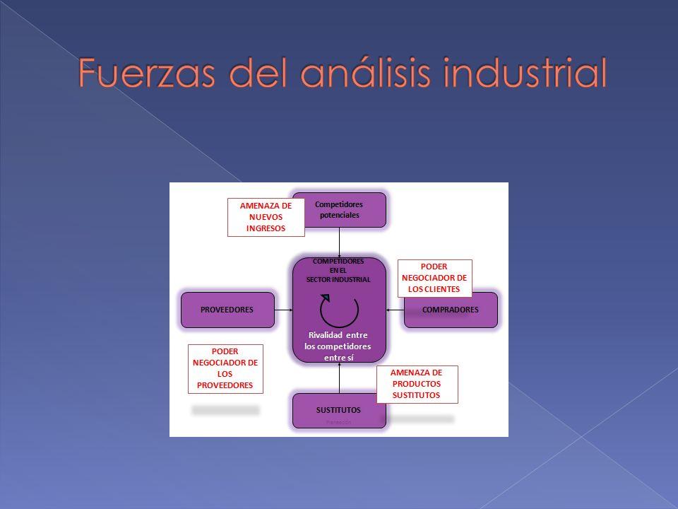 Fuerzas del análisis industrial
