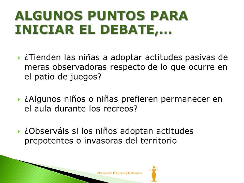 ALGUNOS PUNTOS PARA INICIAR EL DEBATE,…