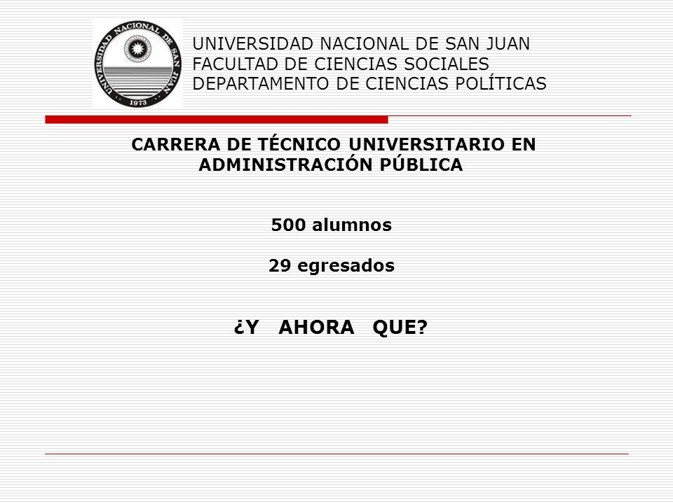 CARRERA DE TÉCNICO UNIVERSITARIO EN ADMINISTRACIÓN PÚBLICA