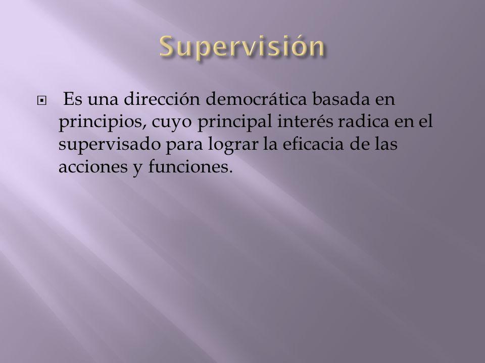 Supervisión