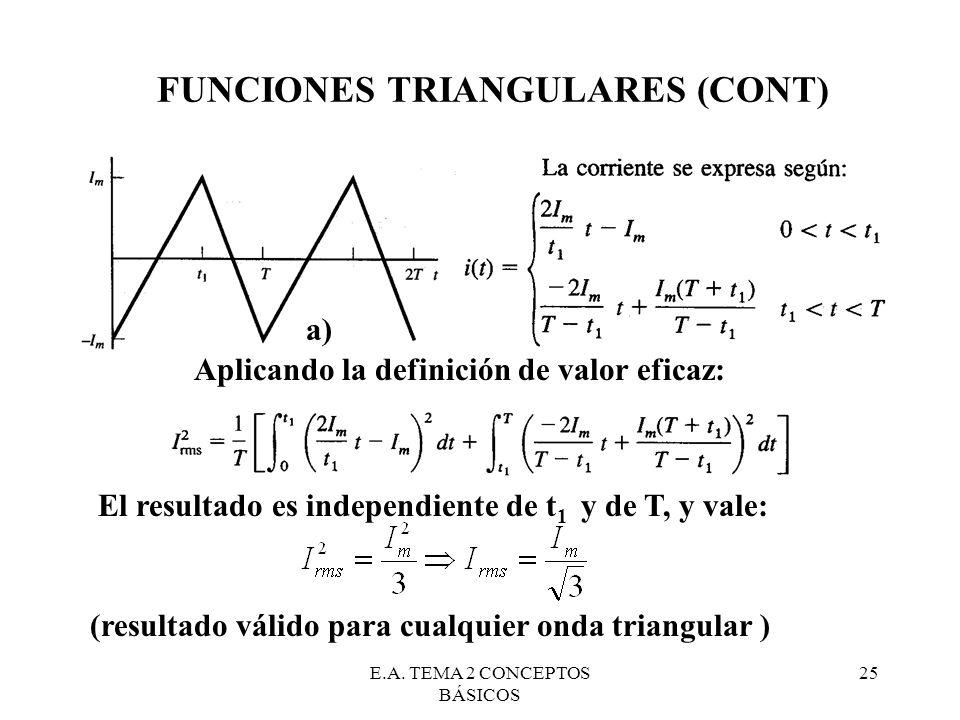 FUNCIONES TRIANGULARES (CONT)
