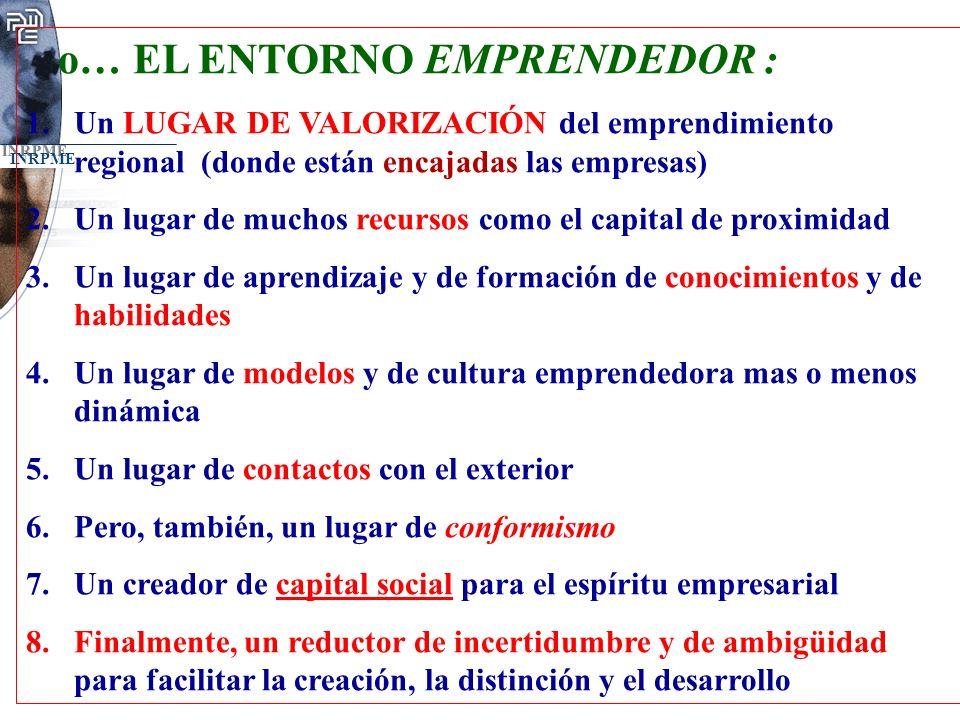 o… EL ENTORNO EMPRENDEDOR :