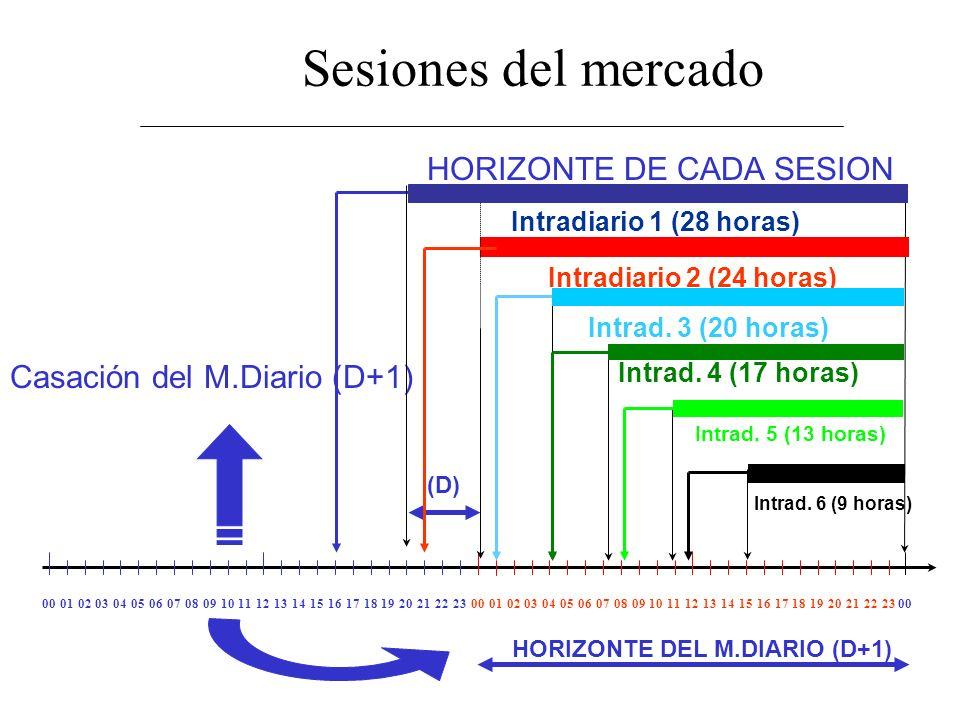 HORIZONTE DEL M.DIARIO (D+1)