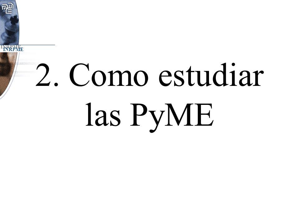 2. Como estudiar las PyME