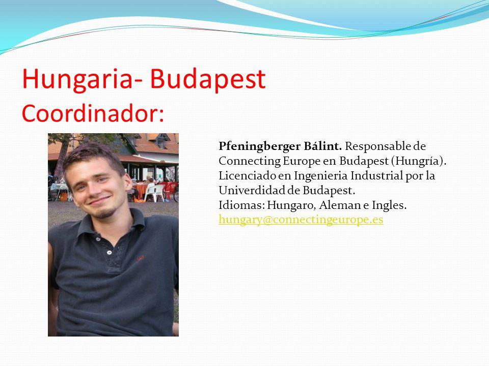 Hungaria- Budapest Coordinador:
