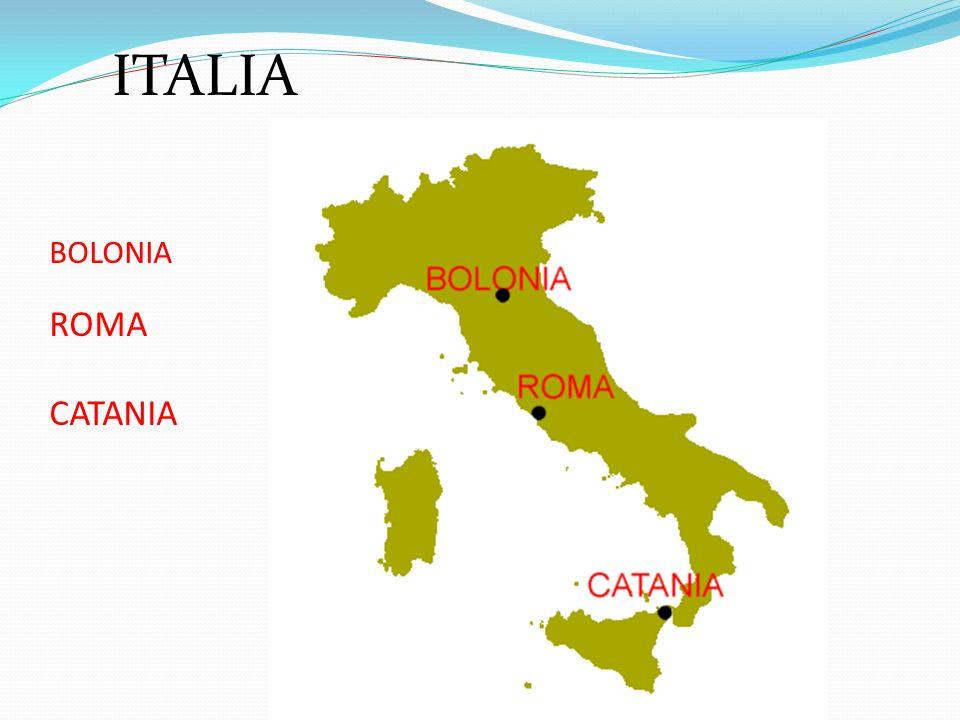 ITALIA BOLONIA ROMA CATANIA