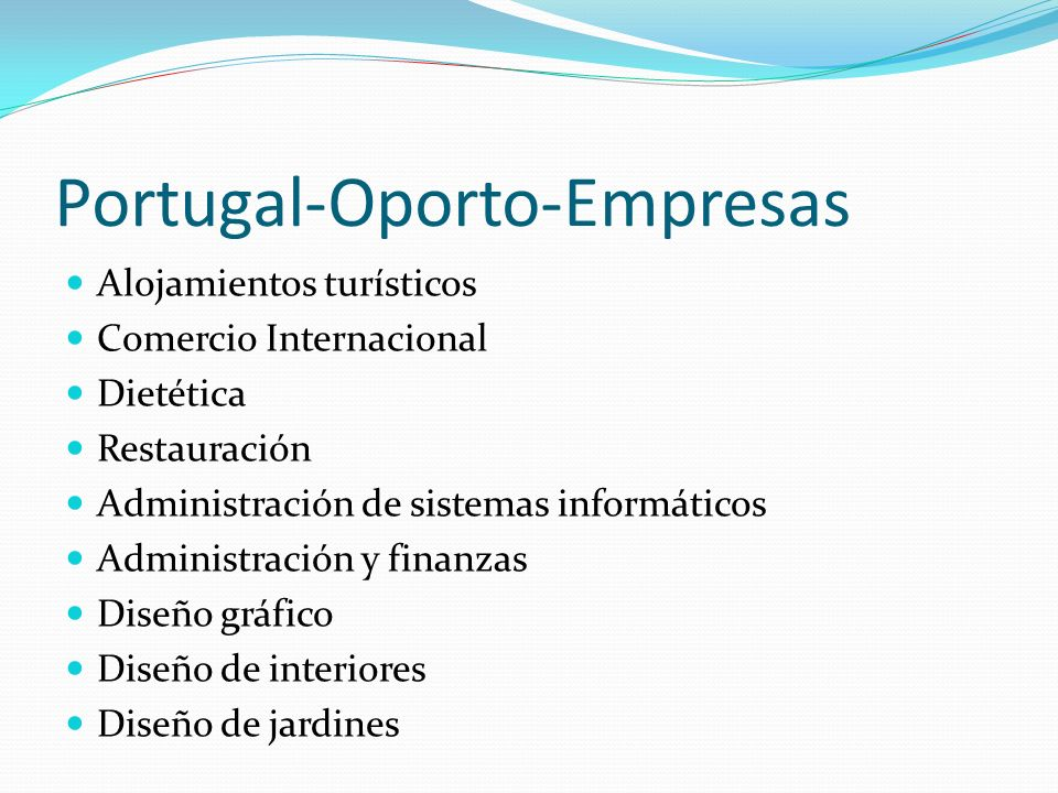 Portugal-Oporto-Empresas