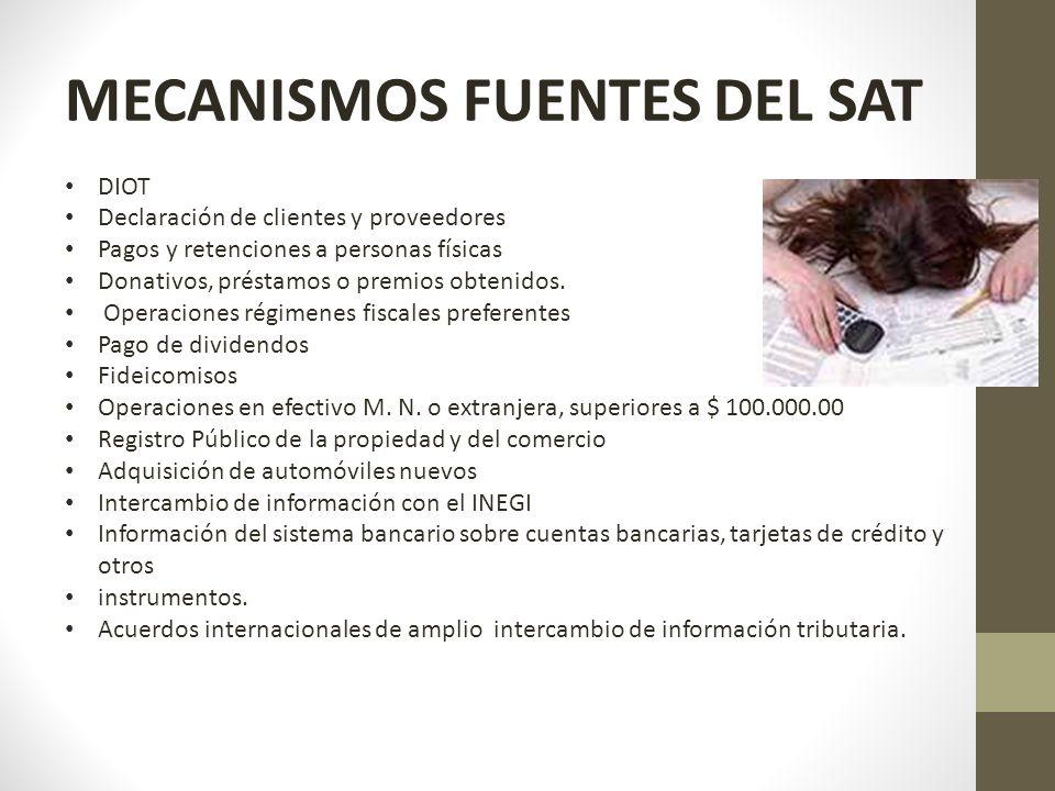 MECANISMOS FUENTES DEL SAT