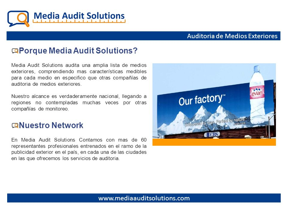 Porque Media Audit Solutions
