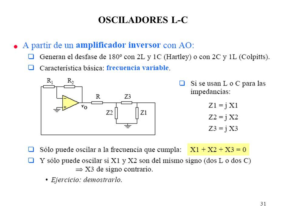 OSCILADORES L-C