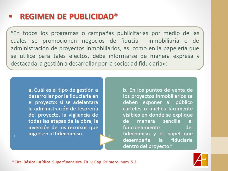 REGIMEN DE PUBLICIDAD*