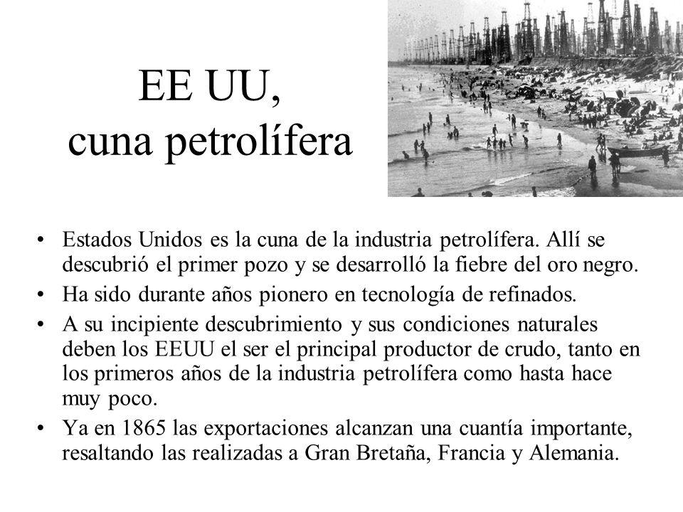 EE UU, cuna petrolífera