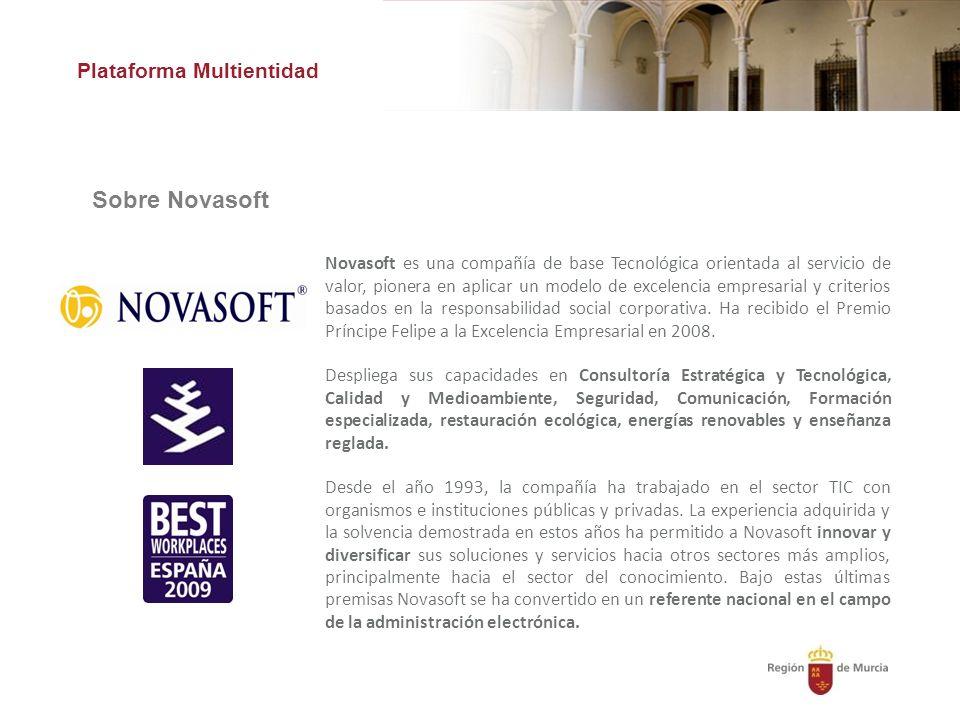 Sobre Novasoft Plataforma Multientidad