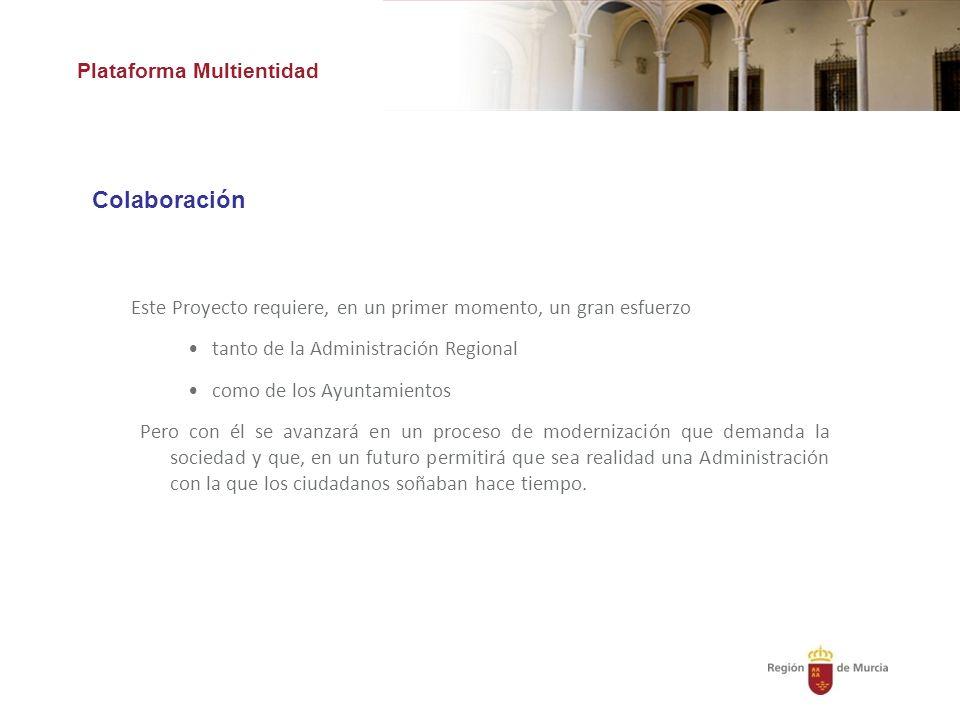 Colaboración Plataforma Multientidad