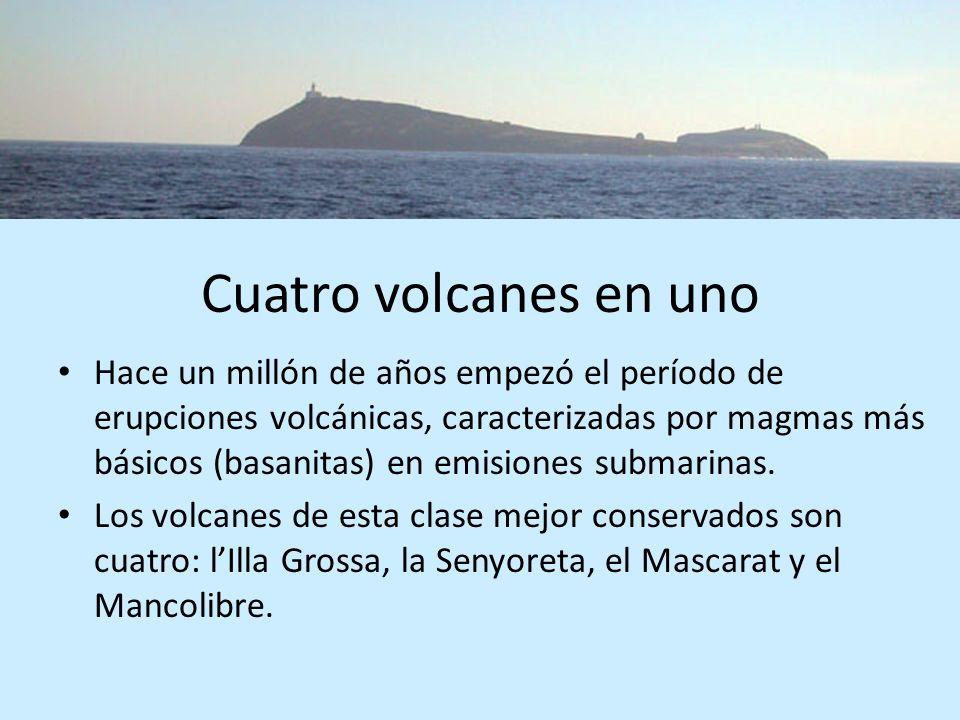 Cuatro volcanes en uno