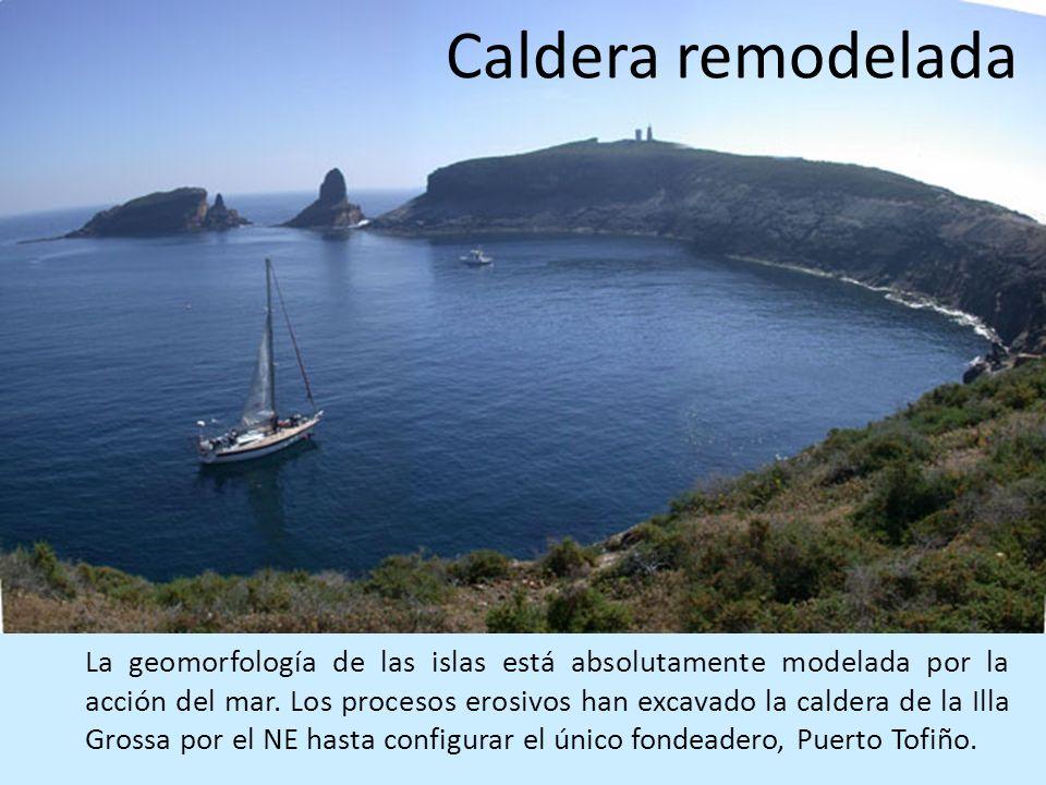 Caldera remodelada