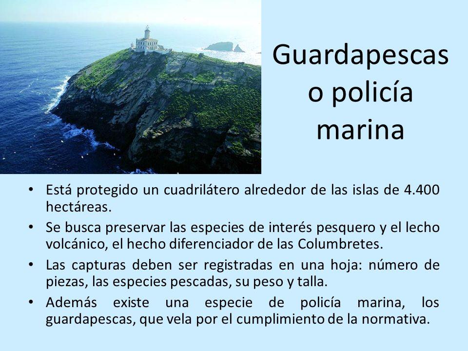 Guardapescas o policía marina