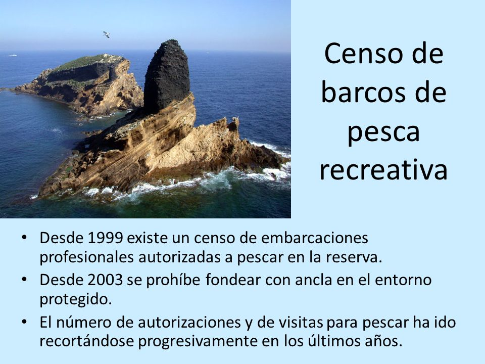 Censo de barcos de pesca recreativa