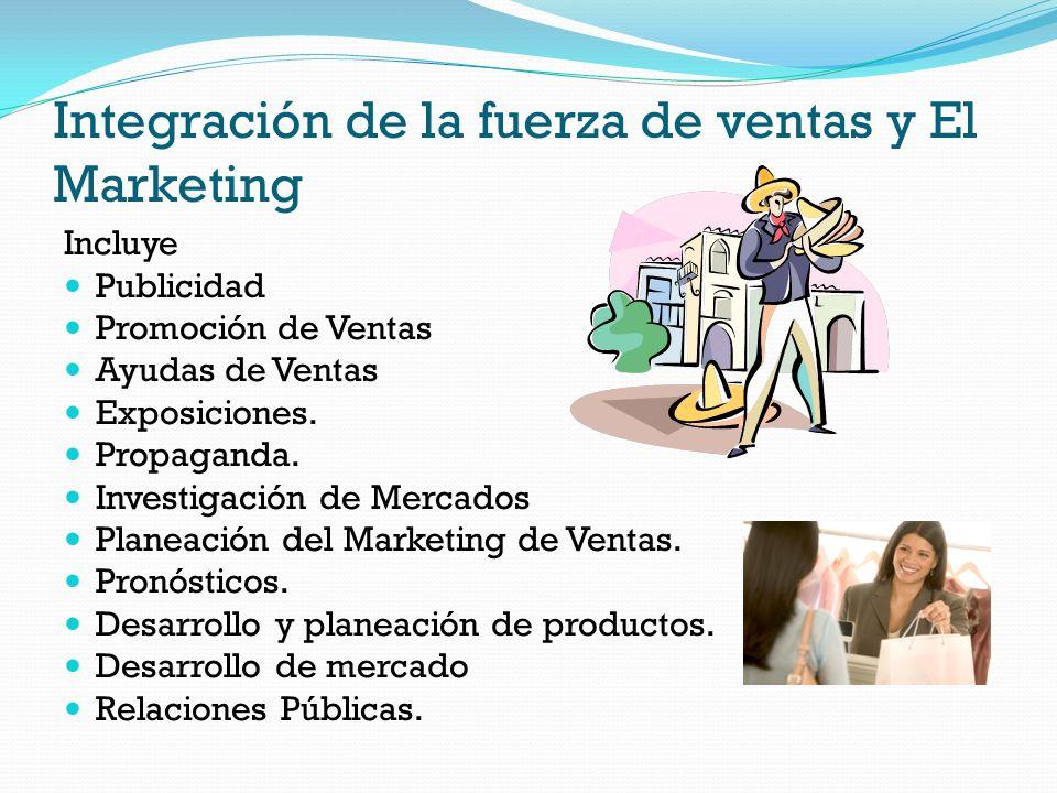 Integración de la fuerza de ventas y El Marketing