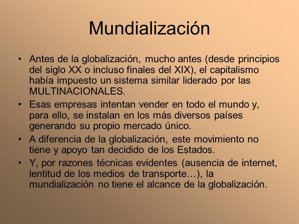 Mundialización