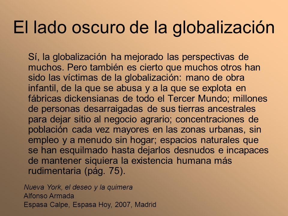 El lado oscuro de la globalización